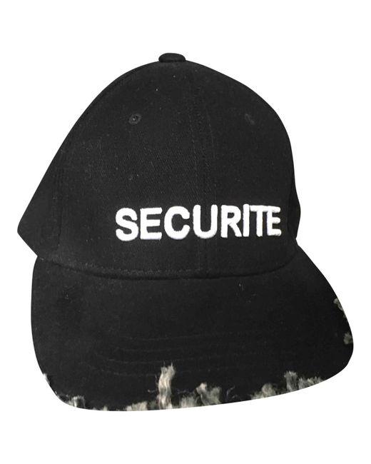Vetements - Black Wool Hat for Men - Lyst