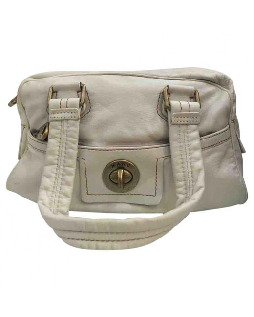 Marc By Marc Jacobs - White Leather Satchel - Lyst