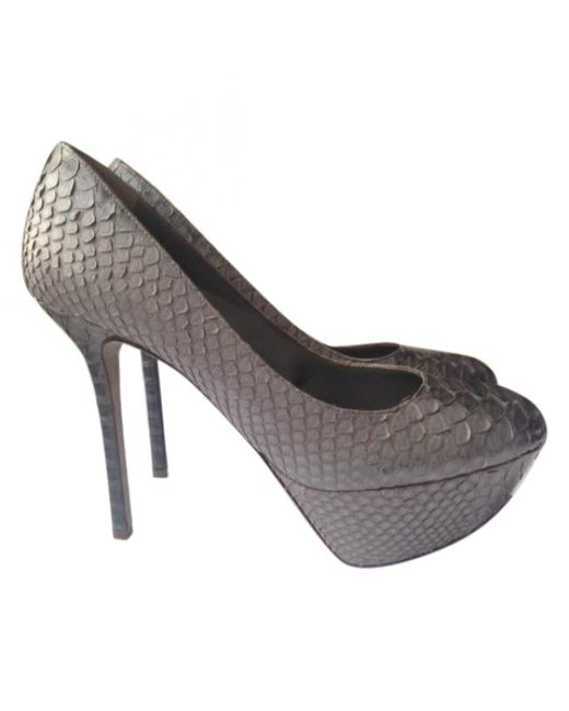 Pre-owned - Exotic leathers heels Sergio Rossi G5SEPrYeY