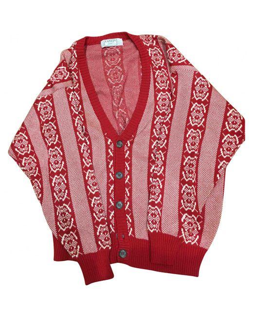 Lanvin - Red Vest - Lyst