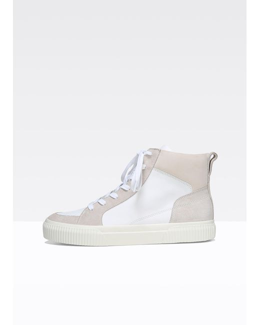 Vince - Multicolor Kiles Leather And Suede Sneakers - Lyst