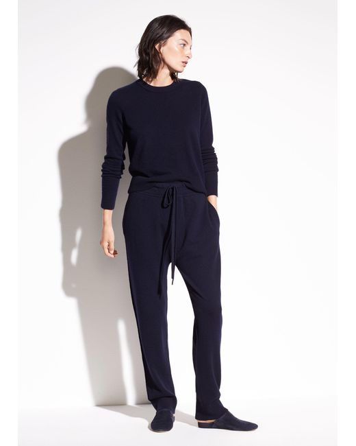 Vince | Blue Slouch Wool And Cashmere Jogger | Lyst