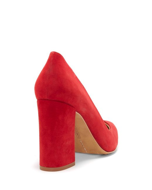 df22eb0be Vince Camuto Talise – Block-heel Pump in Red - Save 46% - Lyst