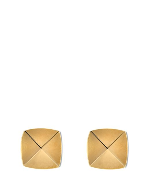 Vince Camuto | Metallic Goldtone Pyramid Studs | Lyst