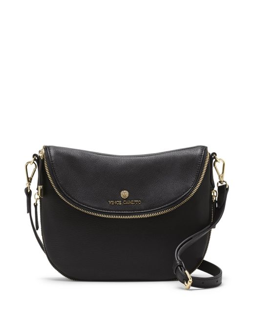 Vince Camuto | Black Rizo – Rounded Crossbody Bag | Lyst