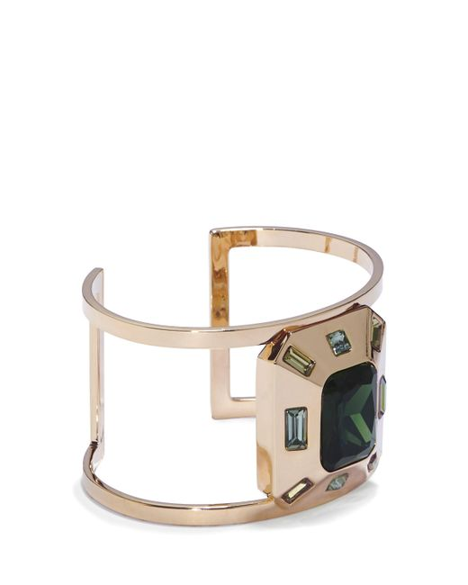 Vince Camuto   Metallic Emerald-cut Cuff   Lyst