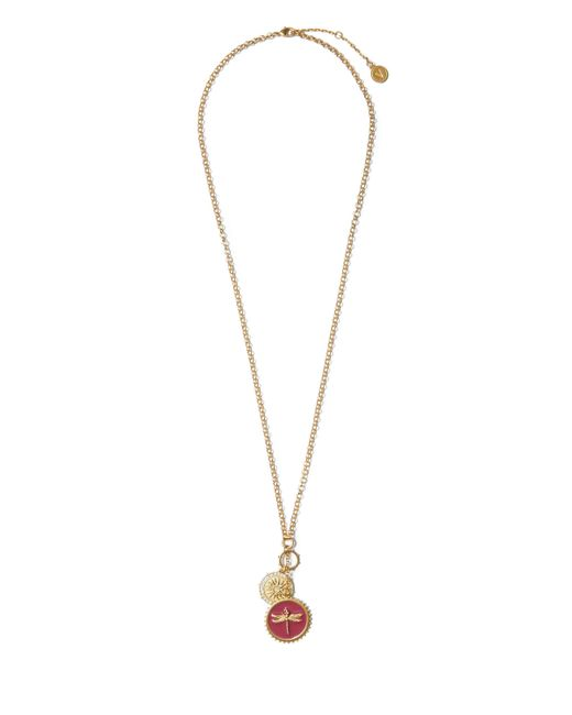 Vince Camuto - Metallic Dragonfly Charm Necklace - Lyst