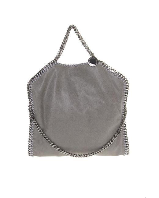 52915c9450be Stella McCartney - Gray Falabella Three Chains Shaggy Deer Bag - Lyst ...