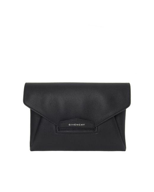Givenchy - Black 'antigona' Clutch - Lyst