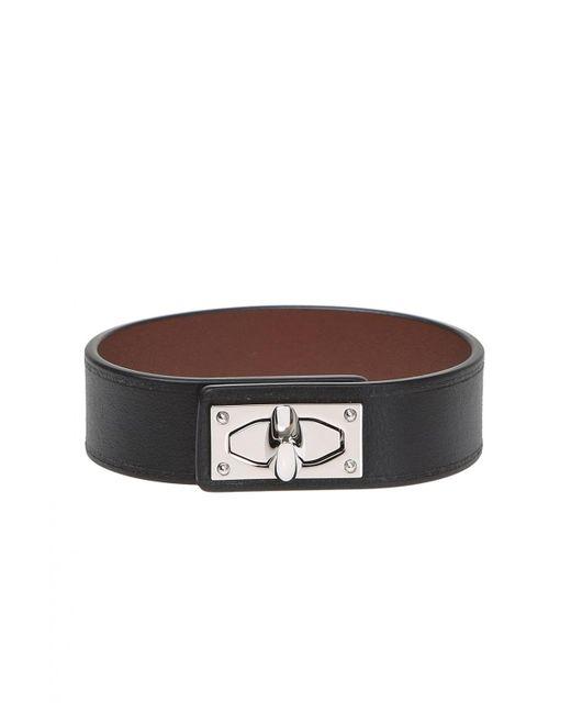 Givenchy - Black 'shark' Bracelet - Lyst