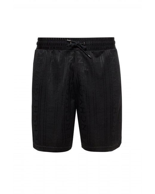 Givenchy Black Drawstring Shorts for men