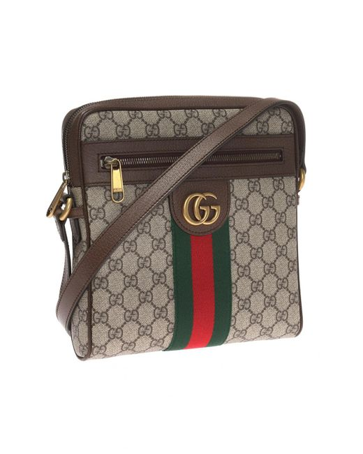 02450b4b80f1a4 Gucci 'ophidia GG' Shoulder Bag in Brown for Men - Save 19% - Lyst