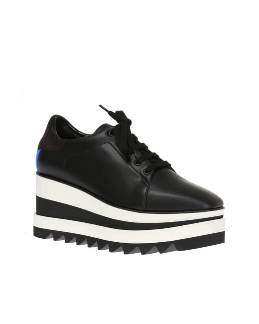 aa95dd2339b Lyst - Stella McCartney Elyse Sneakers in Black - Save 63%