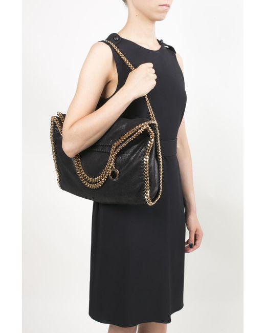 1cdf5ffd3e42 ... Lyst Stella McCartney - Black  falabella  Bag ...