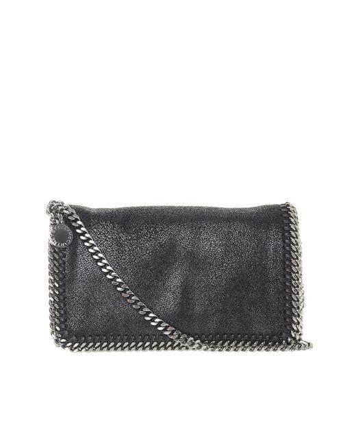 9dc1fbbd9579 Stella McCartney  falabella  Shoulder Bag in Black - Save 72% - Lyst