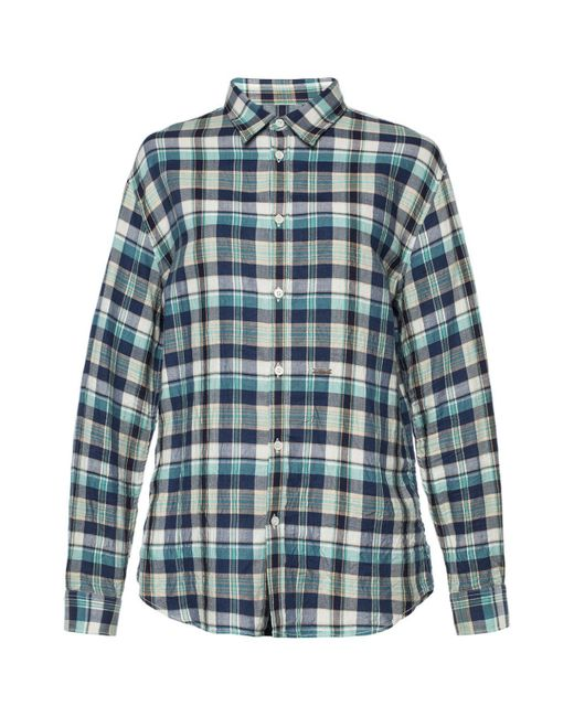 DSquared² - Blue Checked Shirt for Men - Lyst