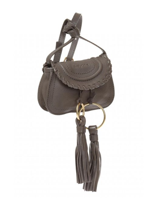 dbf1f16abcd3 ... Lyst See By Chloé - Gray  polly  Shoulder Bag ...