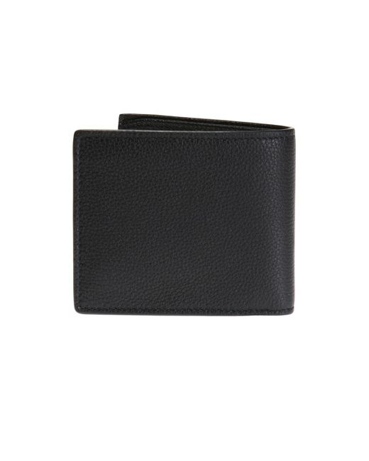 a16ceb917b5 Gucci Print Leather Coin Wallet in Black for Men - Save 19% - Lyst