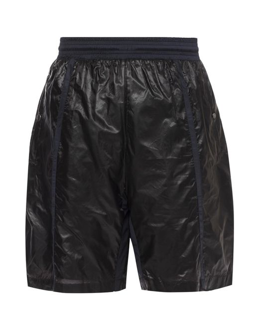 Diesel Black Gold - Black Pantastic Nylon Shorts Nylon With Contrast Details for Men - Lyst