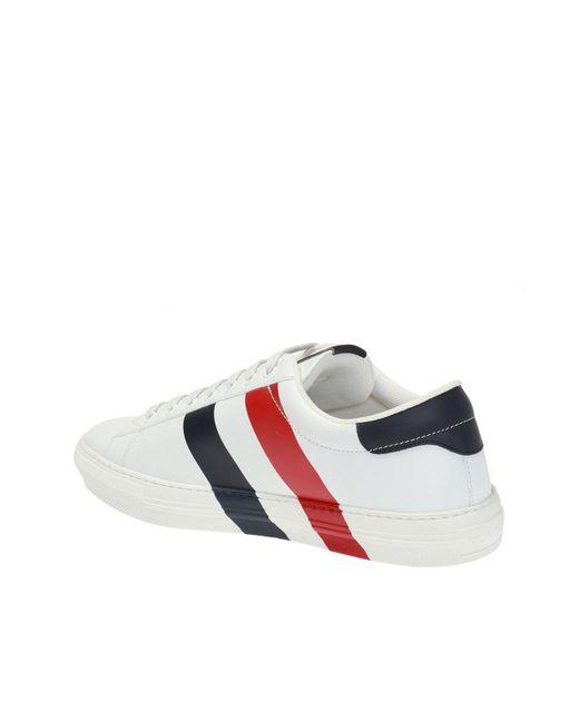 6de8447ec50 ... Moncler - Multicolor Logo-printed Sneakers for Men - Lyst ...