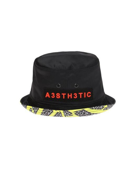 fb90c0abba926 DIESEL Bucket Hat in Black for Men - Save 31% - Lyst