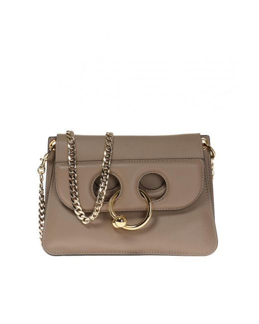 J.W. Anderson - Brown 'pierce' Shoulder Bag - Lyst