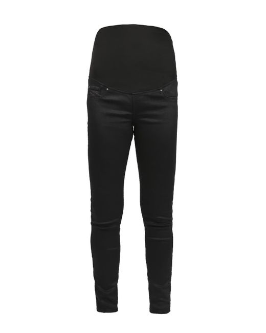 342fd2858847b DIESEL - Black 'maternity' Pregnancy Trousers - Lyst ...