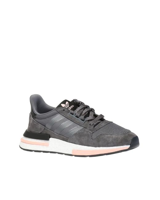 6dff324bc9cb ... Lyst Adidas Originals - Gray  zx 500 Rm  Sneakers for Men ...