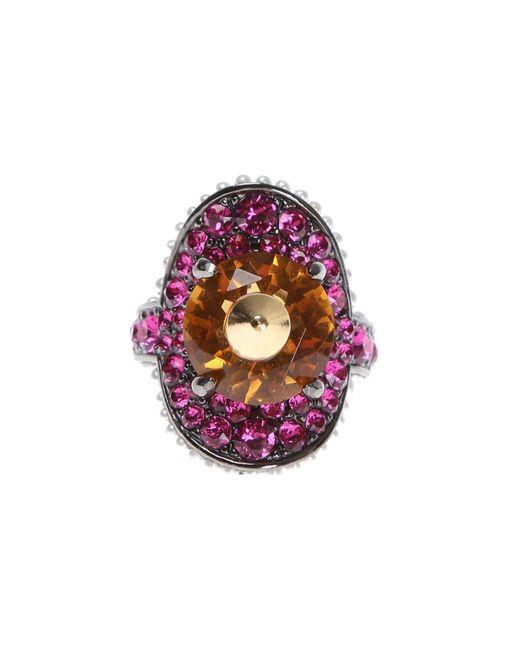Gucci - Multicolor Swarovski Crystal Ring - Lyst