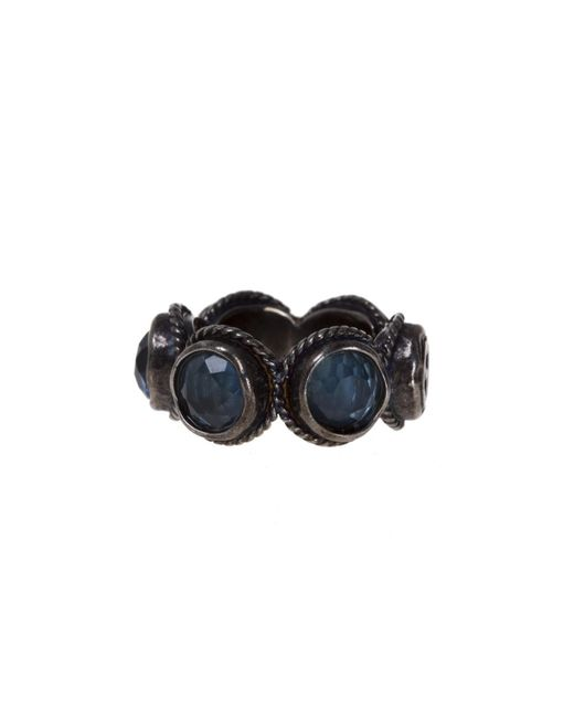 Gucci - Multicolor Crystals Ring - Lyst