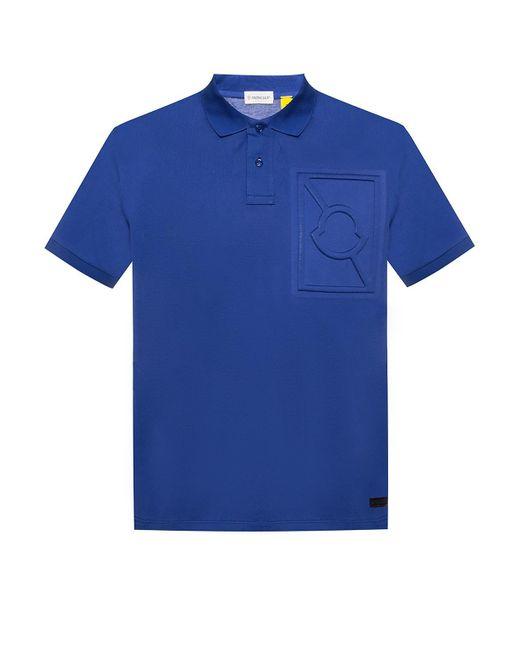 cdd8fbfa5 Moncler Genius - Blue 5 Moncler Craig Green Logo-embossed Cotton-piqué Polo  Shirt ...