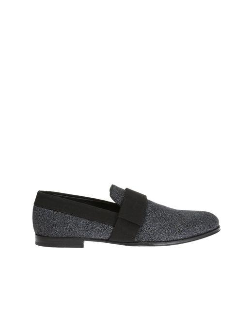 Jimmy Choo - Black 'john' Loafers for Men - Lyst