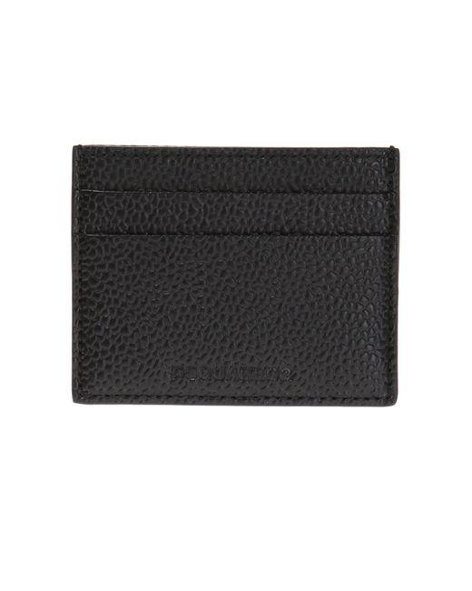 DSquared² - Black Card Case for Men - Lyst