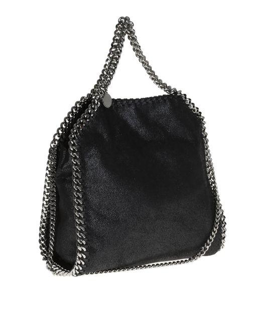 8ddd5fec9c22 Stella McCartney  falabella  Bag in Black - Save 5% - Lyst