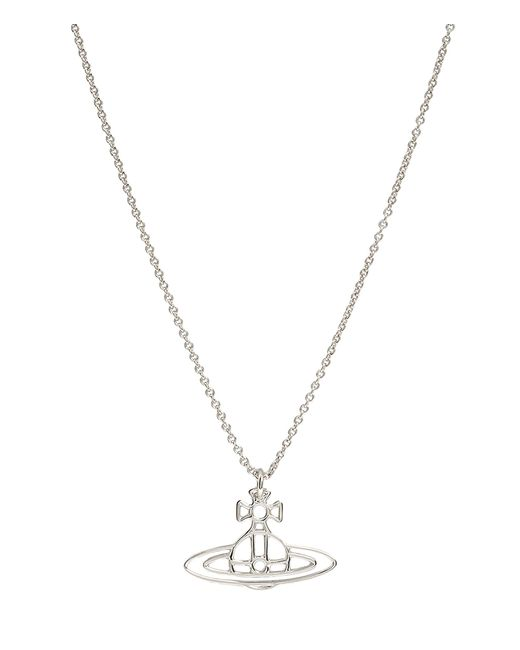 Vivienne Westwood | Metallic Thin Lines Orb Pendant Silver | Lyst