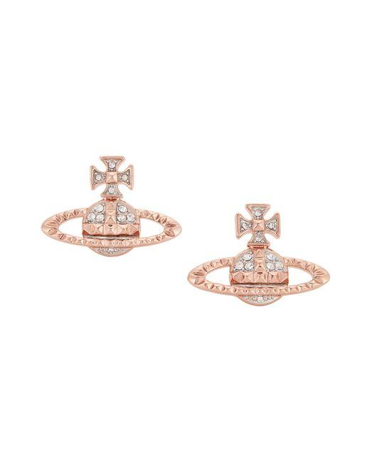 Vivienne Westwood | Mayfair Bas Relief Earrings Pink | Lyst
