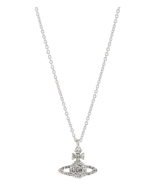 Vivienne Westwood | Metallic Grace Bas Relief Pendant Silver | Lyst