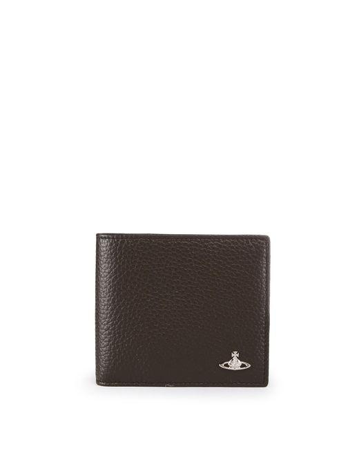 Vivienne Westwood   Green Milano Wallet 33408 Brown for Men   Lyst