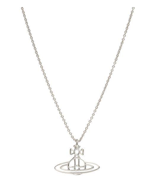 Vivienne Westwood | Metallic Thin Lines Orb Pendant Silver | Lyst