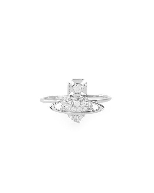 Vivienne Westwood | Metallic Sterling Silver Estella Ring | Lyst