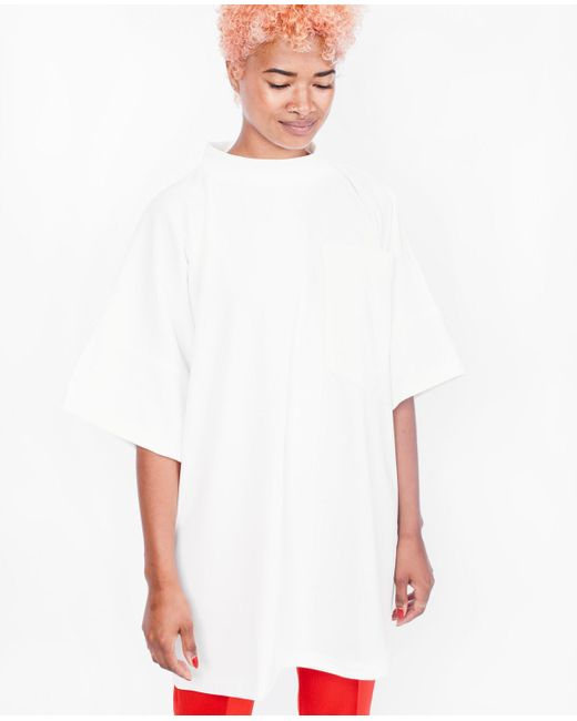 House Of Sunny | White Clean Pocket Tee / Clean | Lyst