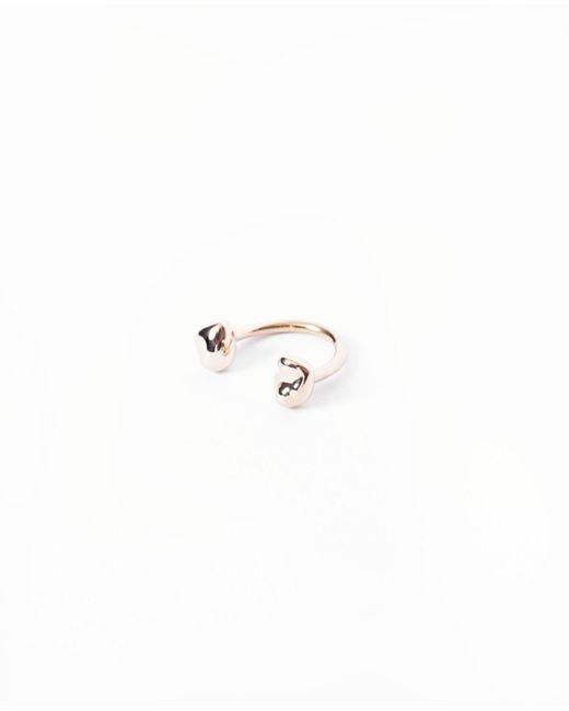 Faris   Metallic Tula Ring / Bronze   Lyst