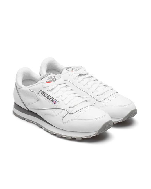 ... Reebok - White Cl Leather Archive for Men - Lyst ... 30a5e3a56