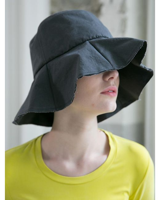 51308b31b0a880 ... AWESOME NEEDS - Black Cotton Bucket Hat - Lyst ...