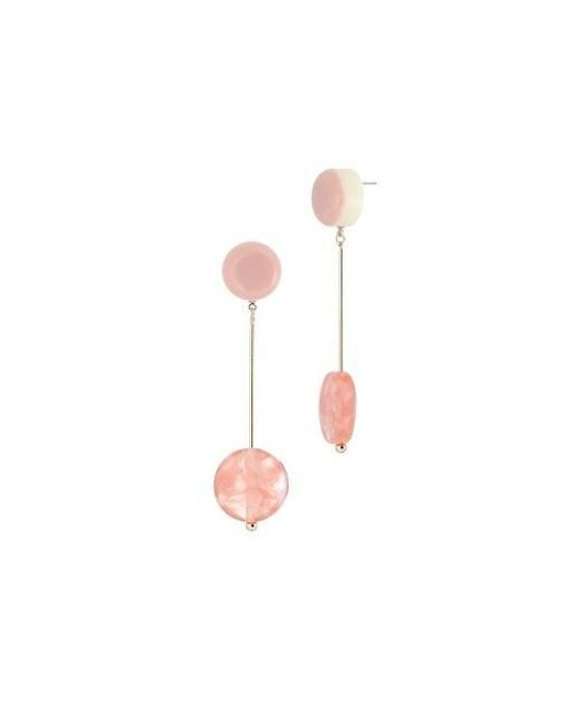 AOULIN - Pink Rosa Bianco Earring - Lyst