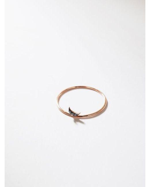 G. TATIANA - Metallic 14k Dreamy Moon Point Ring - Lyst