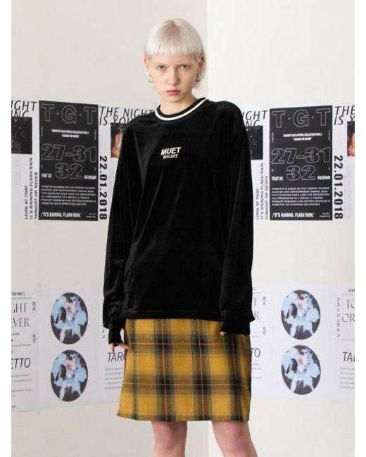 TARGETTO - Muet Velvet T Shirt Black - Lyst
