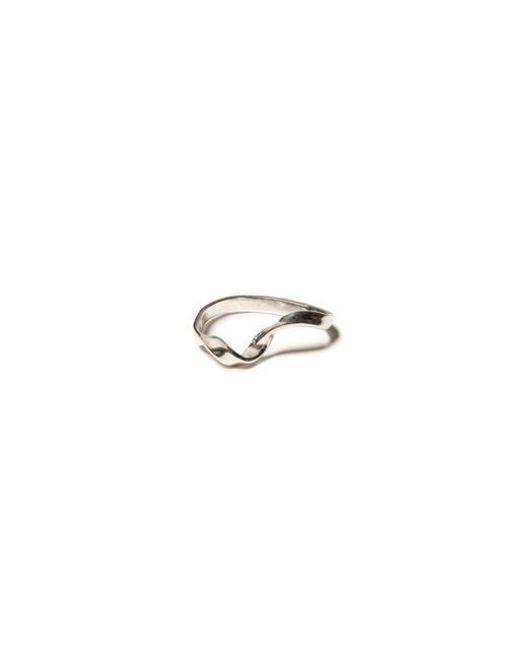 KYYN THE GARTEN - Metallic Twisted Meling Ring - Lyst