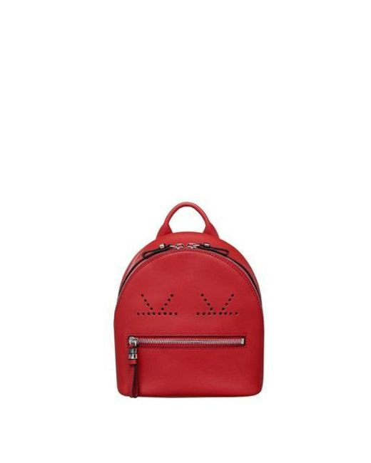 ROSA.K - Red Pookey Smile Backpack S_rd (rspfbc107rd) - Lyst