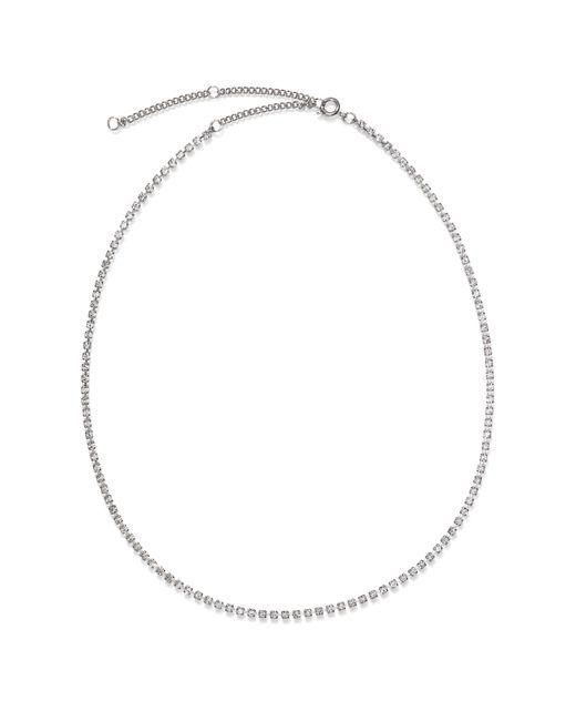 Weekday | Metallic Diamond Necklace | Lyst